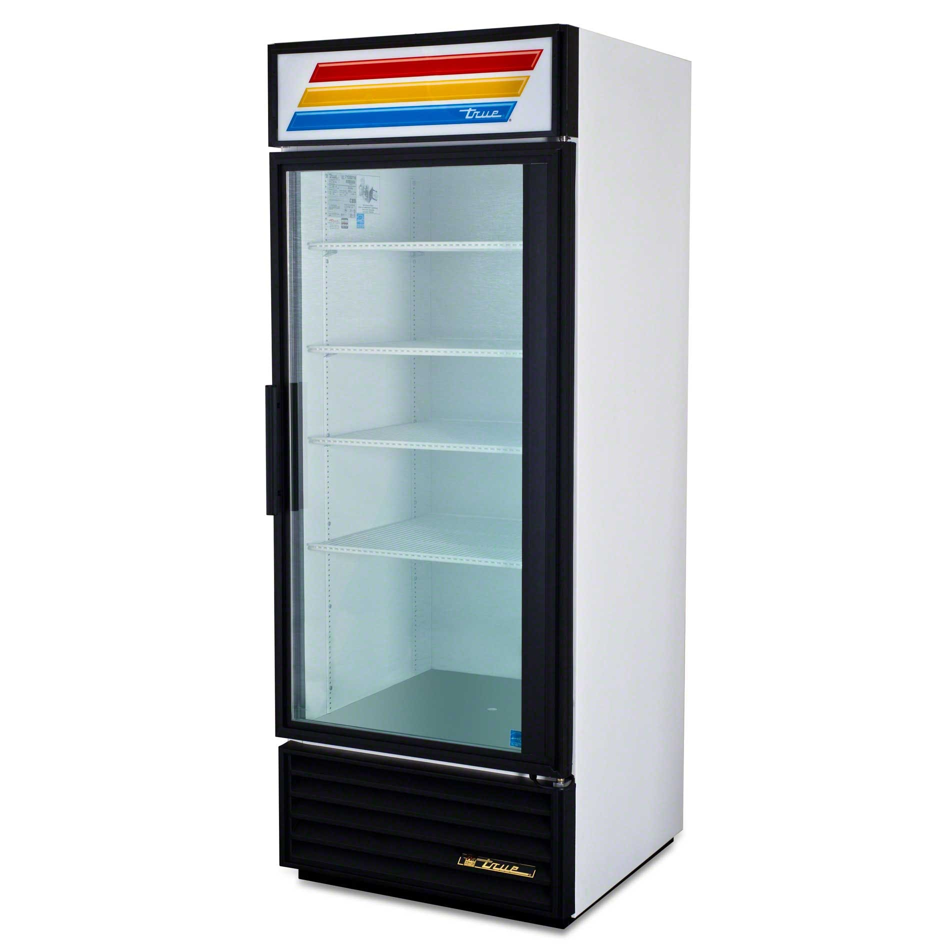 "True - GDM-26 30"" Swing Glass Door Merchandiser Refrigerator Commercial refrigerator sold by Food Service Warehouse"