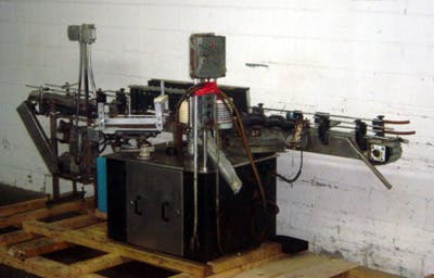 KRONES ROTINA LABELER W/WRAP BELT Bottle labeler sold by Union Standard Equipment Co