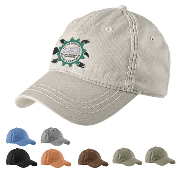 District Threads - Thick Stitch Cap Promotional cap sold by MicrobrewMarketing.com