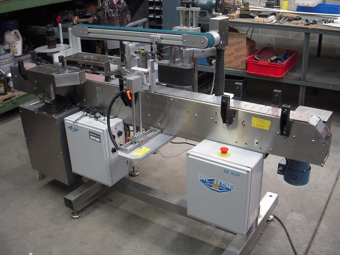 DL Tech Labeler  Labeling machine sold by Aevos Equipment
