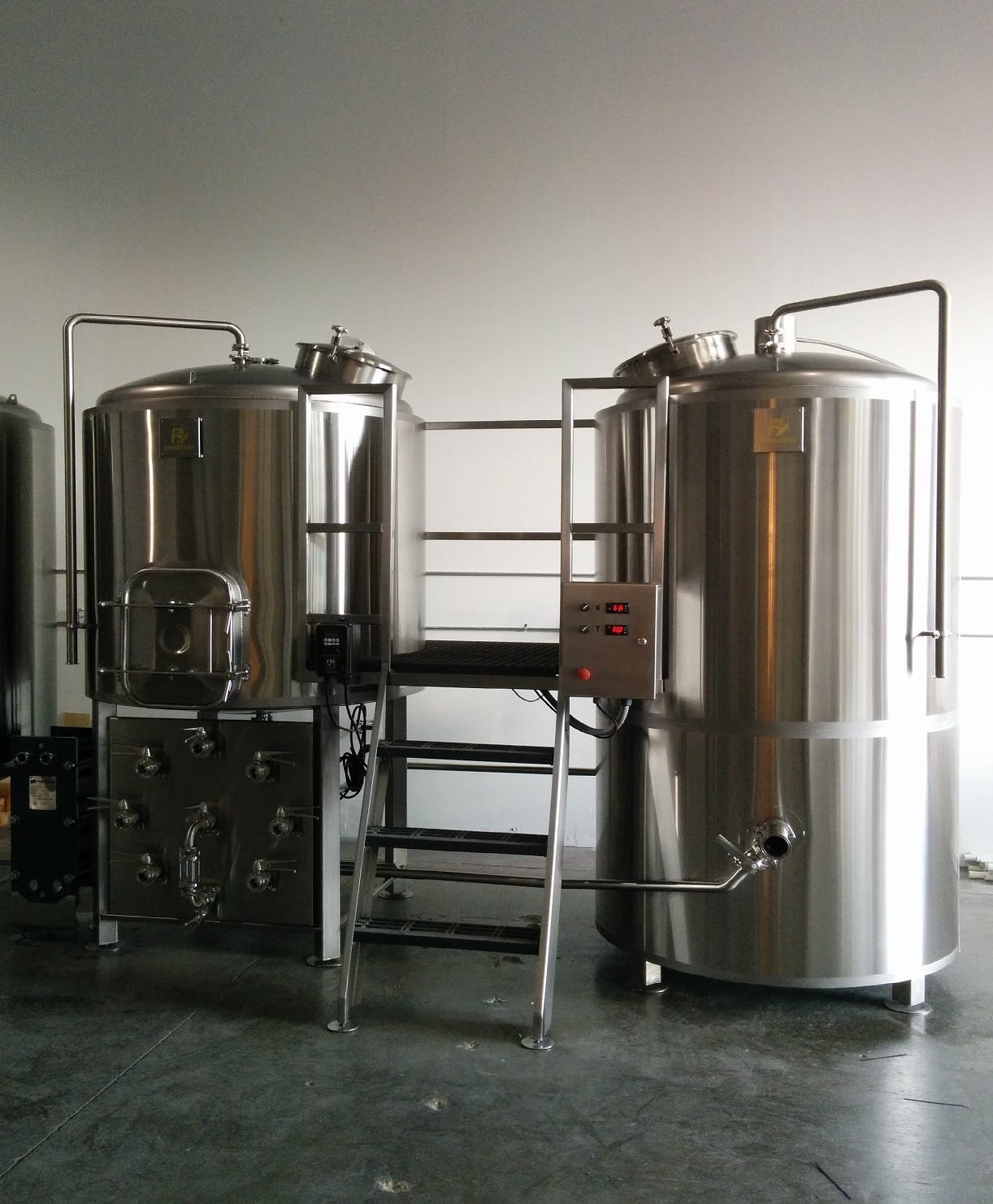 5 30 Bbl Steam Heated Brewhouse Brewhouse Sold By