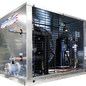 Modular Glycol Chiller Systems - Glycol chiller sold by American Chillers and Cooling Tower Systems