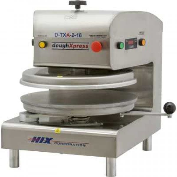 "18"" Stainless Automatic Pneumatic Dough Press"