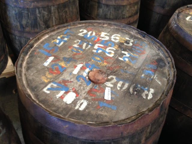 Rum head - USED Rum Barrels (Imported) - sold by Rocky Mountain Barrel Company