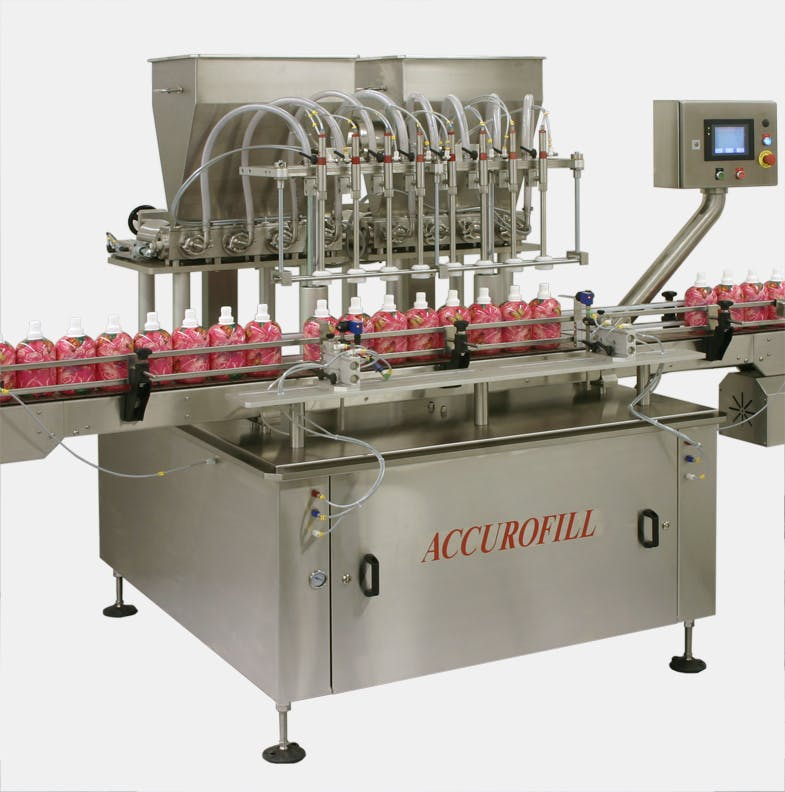 Accurofill for Viscous Products - Capmatic Accurofill Precision Liquid and Viscous Product Volumetric Piston Filler - sold by Capmatic