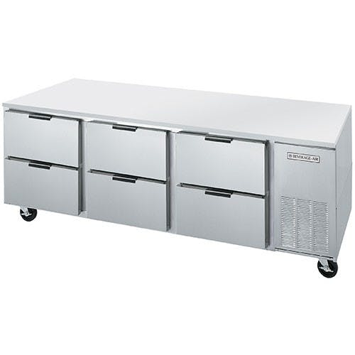 "Beverage Air - UCRD93A-6 - Undercounter Refrigerator - 93"" Commercial refrigerator sold by Elite Restaurant Equipment"