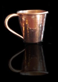 Prestige Style Solid Copper Mug With Welded Copper Handle Copper mug sold by Copper Mug Warehouse