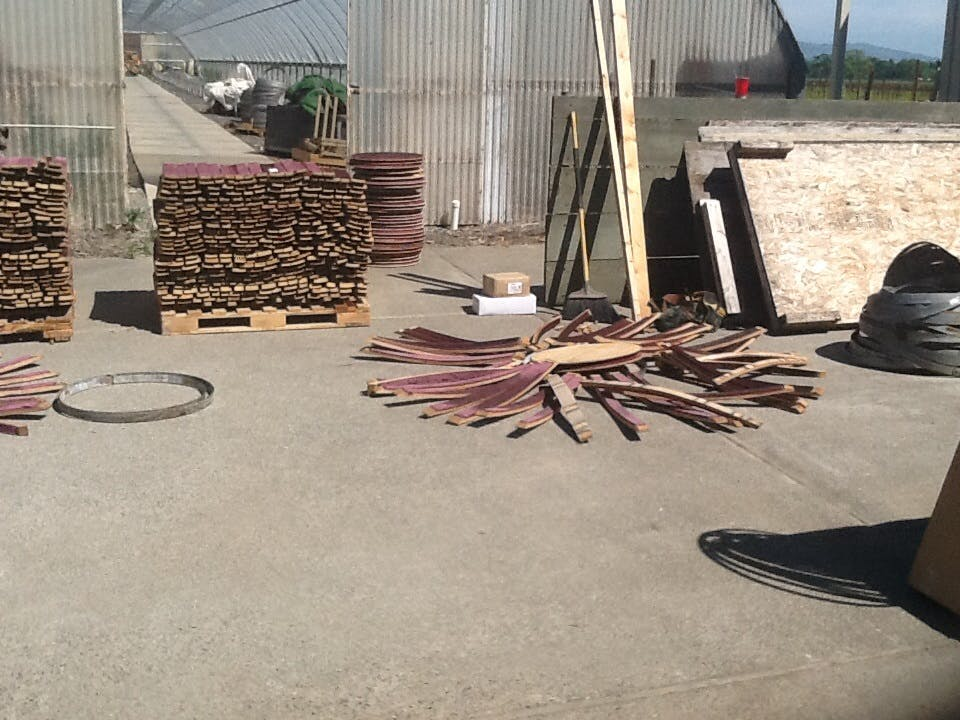 Wine Staves Barrel sold by Napa Valley Barrels