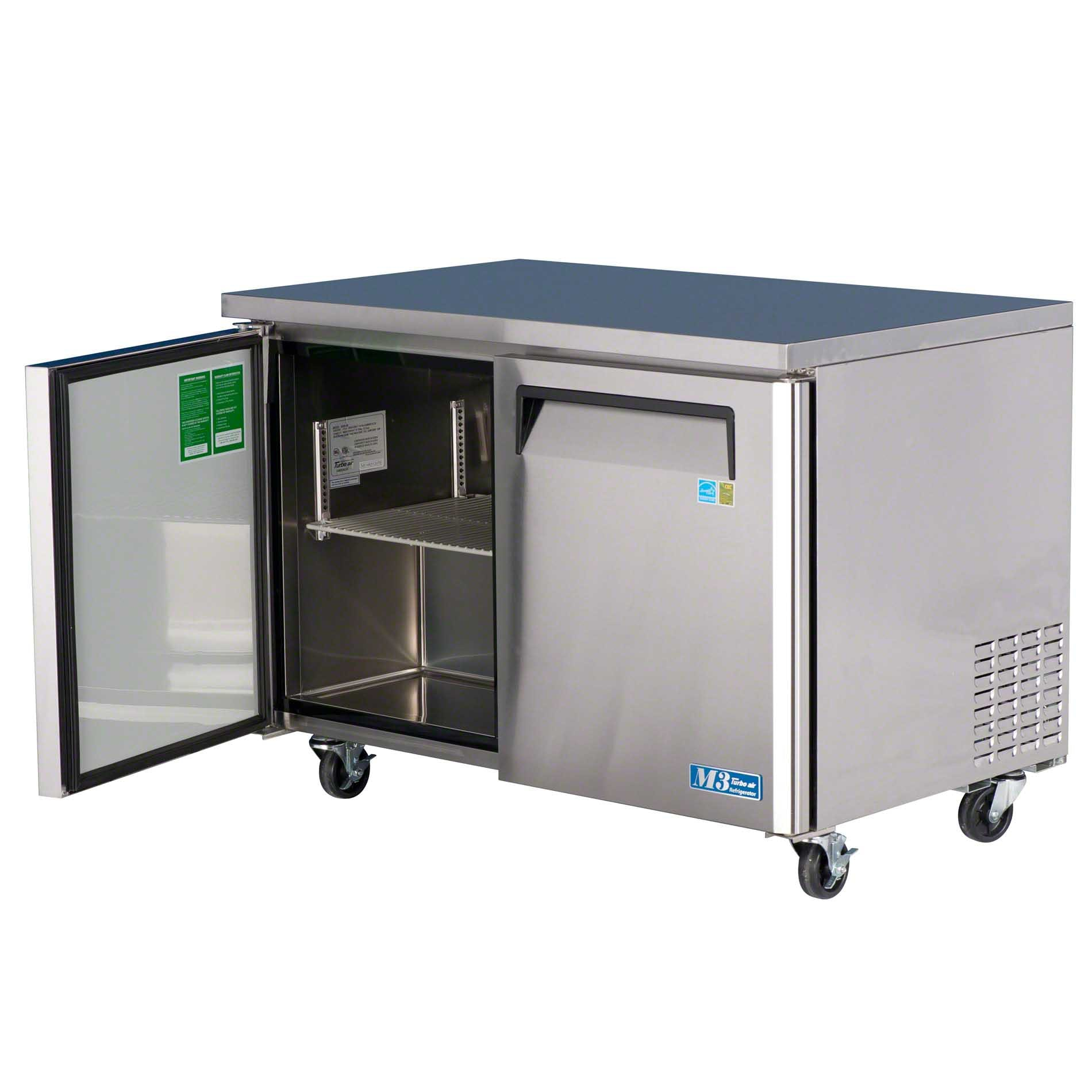 "Turbo Air - MUR-48 48"" Undercounter Refrigerator – M3 Series - sold by Food Service Warehouse"