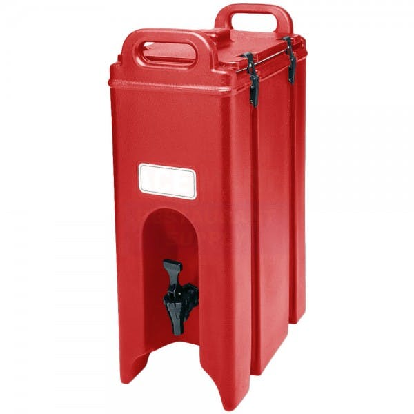 Camtainer® 4-3/4 gal. Red Insulated Beverage Server