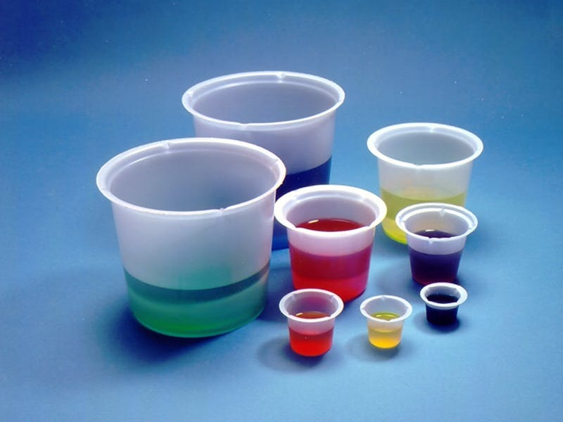 Disposable PS Beakers  Disposable beaker sold by Qorpak