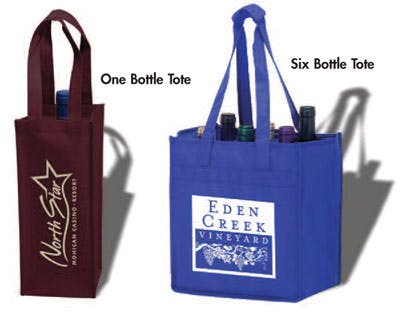 Bottle Totes Bag sold by AdCoasters