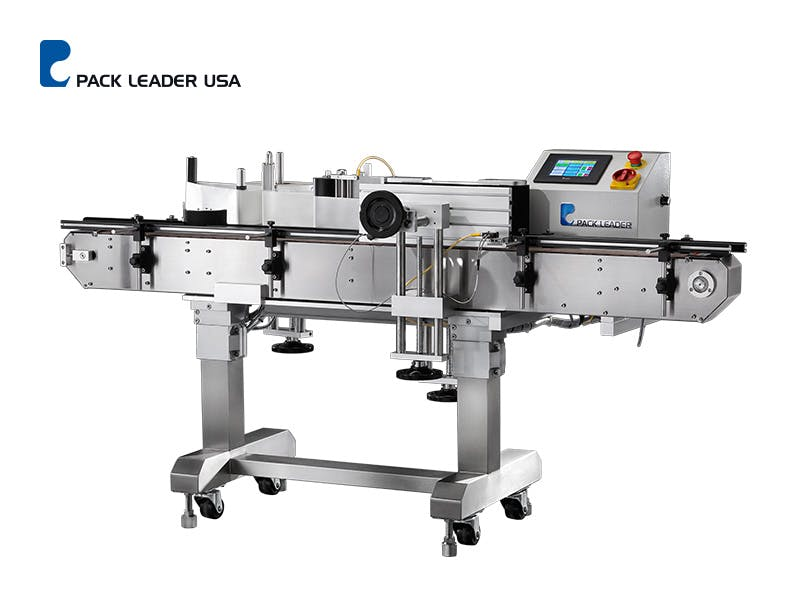 PL-501 Picture - PL-501 Wrap Around Labeling System - sold by Pack Leader USA, LLC