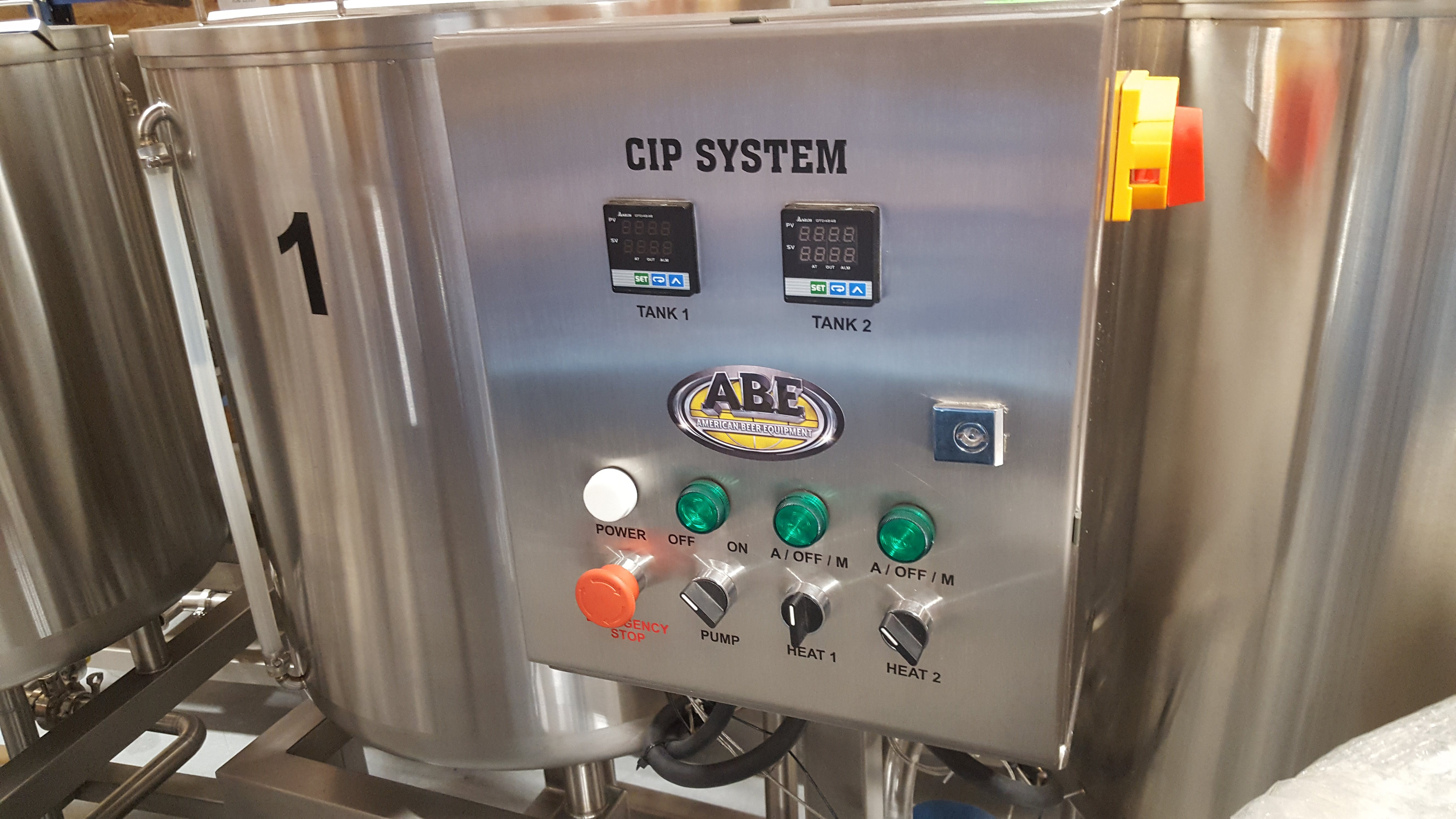 Control Box - CIP System - sold by American Beer Equipment
