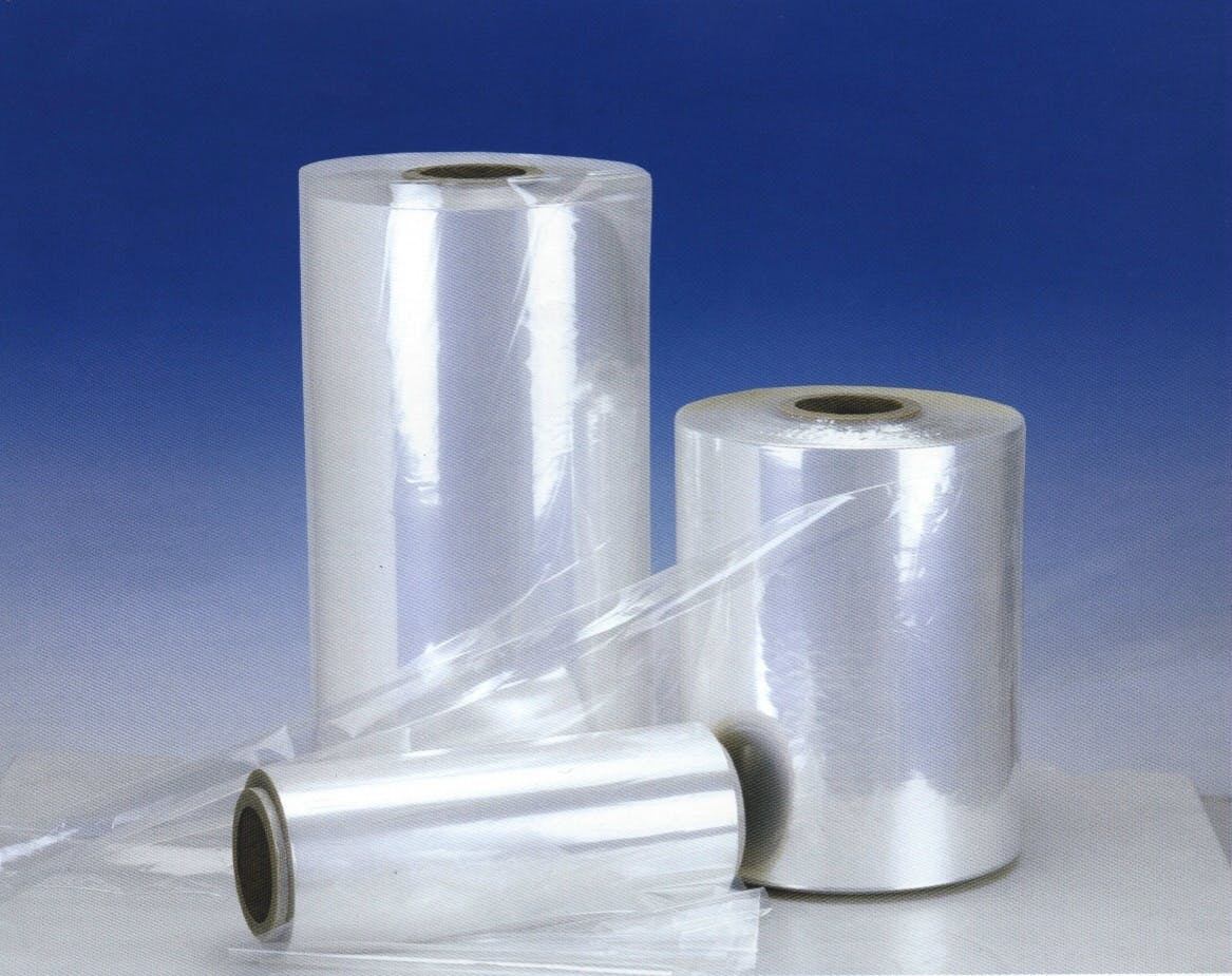 PVC (Polyvinyl Chloride) Centerfold Shrink Film and Bags