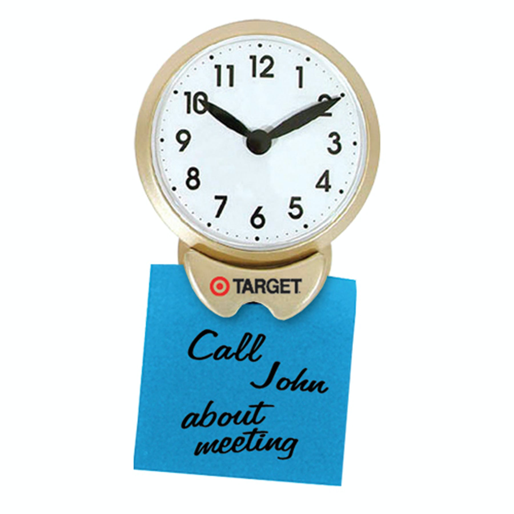 Magnetic Memo Clock (Item # ADIOL-HDHEY) Promotional magnet sold by InkEasy