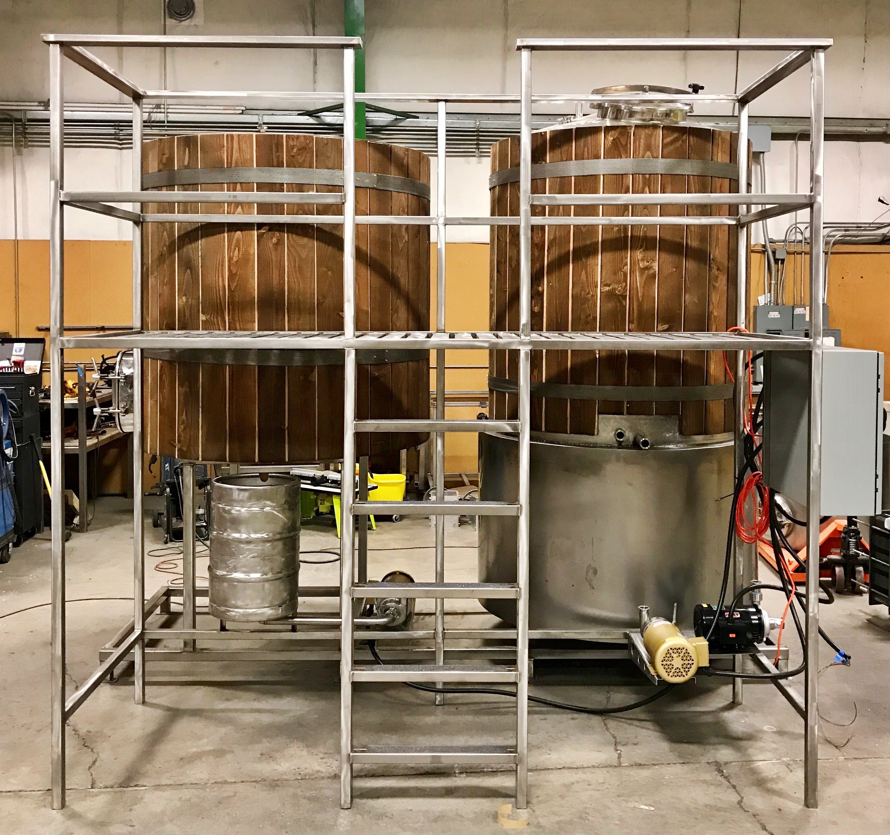 15bbl Brewhouse - sold by WeCan Brewing Systems