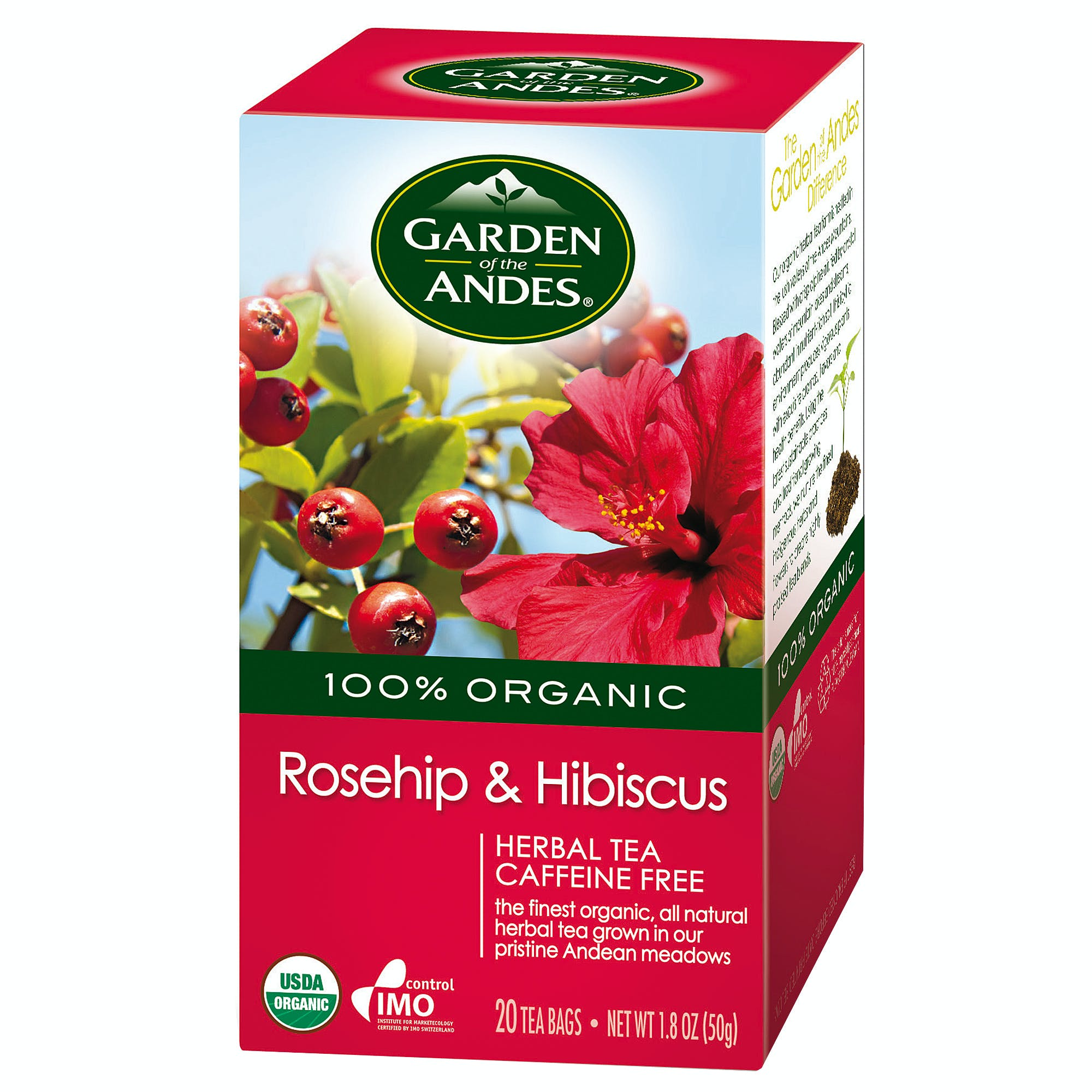 Organic Rosehip and Hibiscus Tea - sold by M5 Corporation