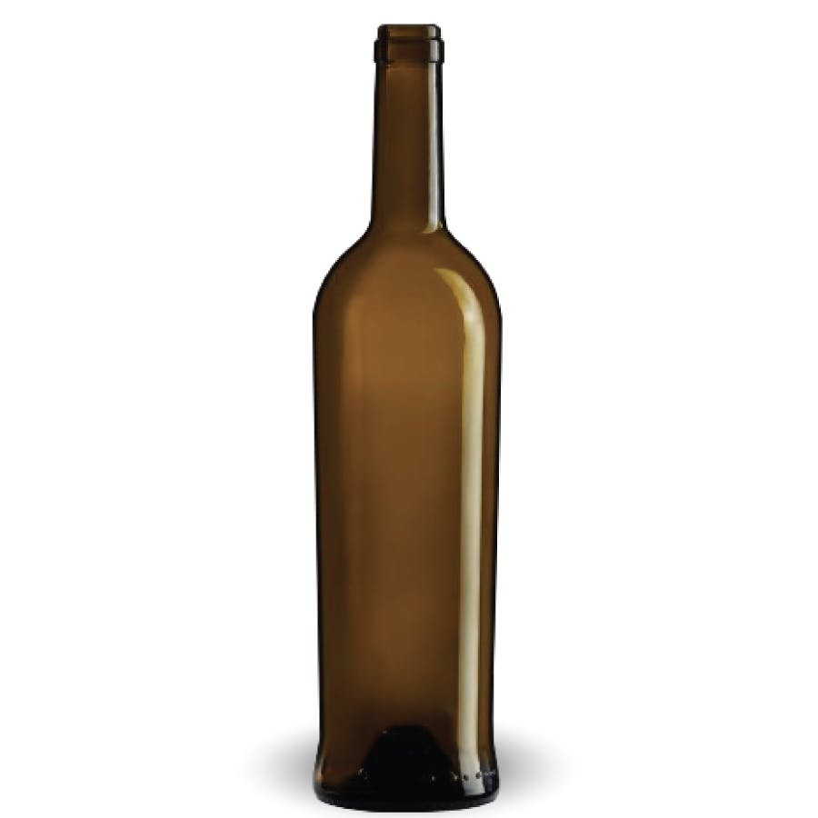 Bulk - Bordeaux Azur à cran - 750ml - Antique Green - PLU Wine bottle sold by BOTTLE EXPRESS LLC