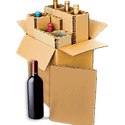 6-Bottle Shipper - Wine shipper sold by Midstates Packaging