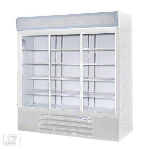 "Beverage Air - LV72Y-1 75"" Glass Door Merchandiser Commercial refrigerator sold by Food Service Warehouse"