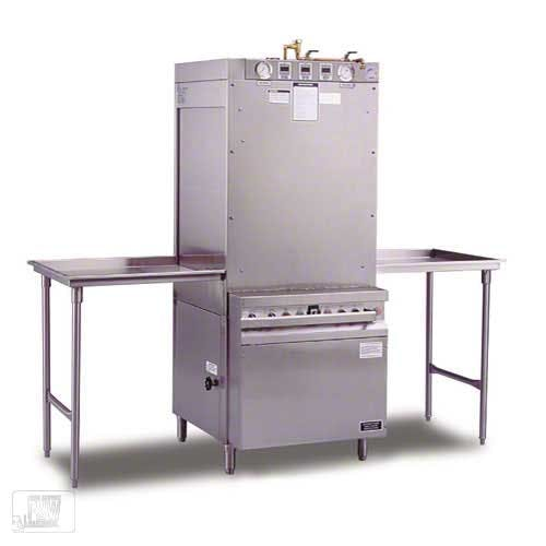 Insinger - SW-12-P 13 Rack/Hr Pass-Thru Pot and Pan Washer Commercial dishwasher sold by Food Service Warehouse