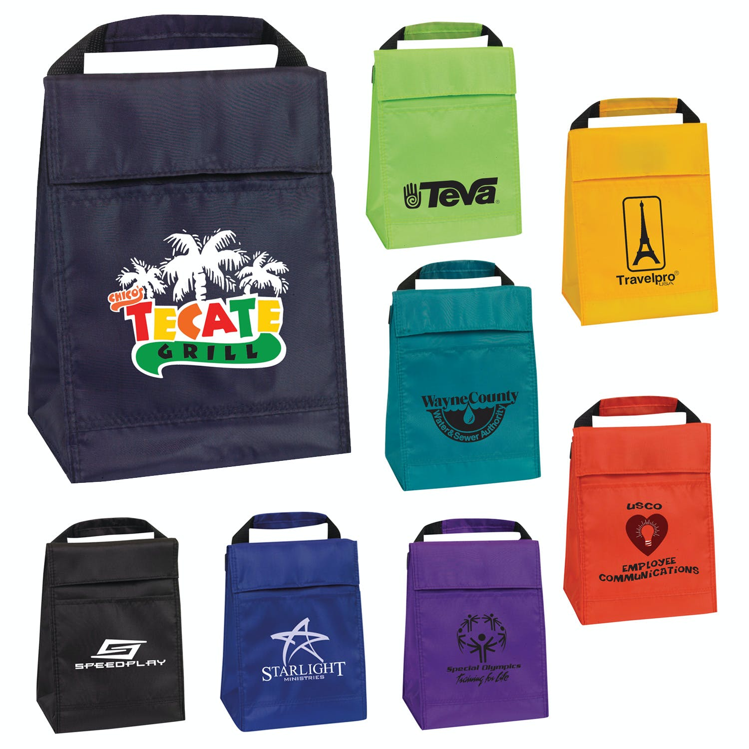 Insulated Lunch Bag (Item # VDKKM-HUYDH) Insulated cooler sold by InkEasy