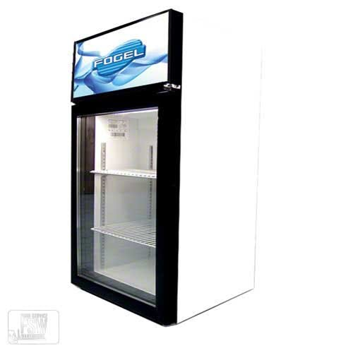 "Fogel - CTE-3-US 19"" Countertop Glass Door Merchandiser Commercial refrigerator sold by Food Service Warehouse"