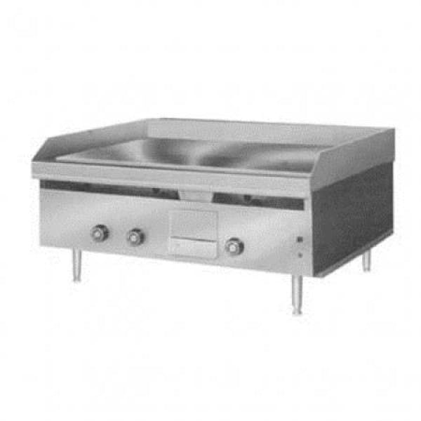 """LG Series 36"""" NG Griddle w/ Snap-Action Thermostat Controls"""