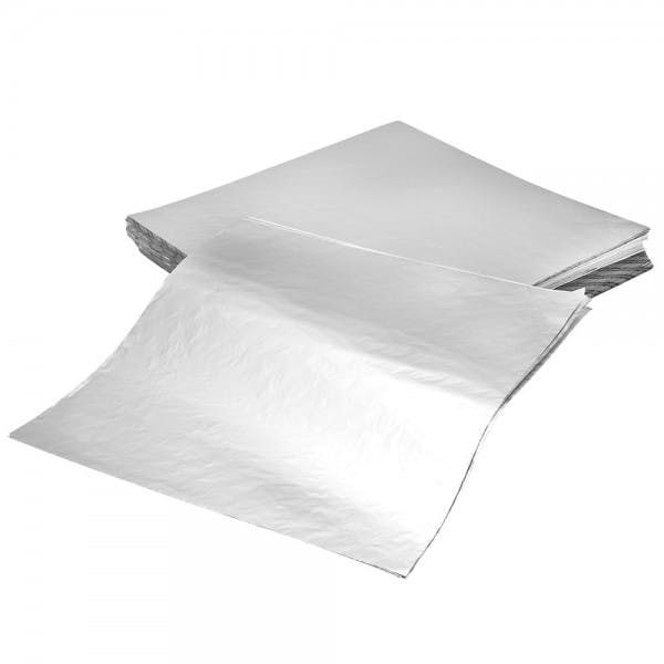 "12"" x 12"" Insulated Foil Paper Wrap Sheets"
