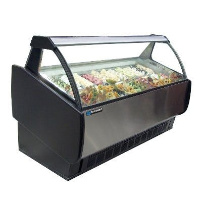 Master-Bilt GEL Series Ice Cream & Gelato Merchandisers Merchandiser sold by pizzaovens.com