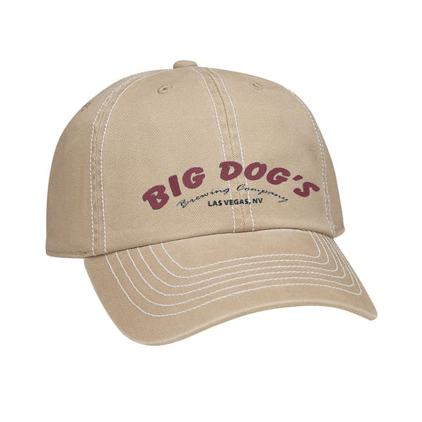 Embroidered Retro Cap Promotional cap sold by MicrobrewMarketing.com