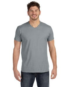 498V Hanes 4.5 oz., 100% Ringspun Cotton nano-T® V-Neck T-Shirt Promotional shirt sold by Lee Marketing Group