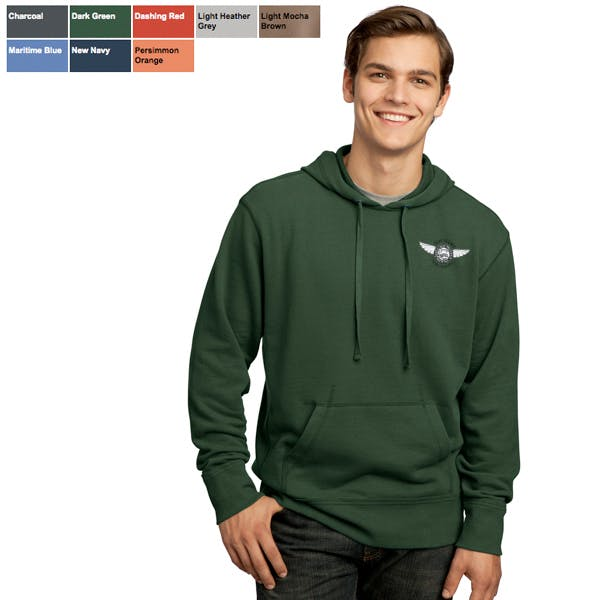 DT Vintage French Terry Pullover Hoodie Promotional apparel sold by MicrobrewMarketing.com