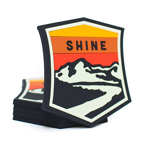 Rubber Coasters Drink coaster sold by Shine Craft Vessel Co.