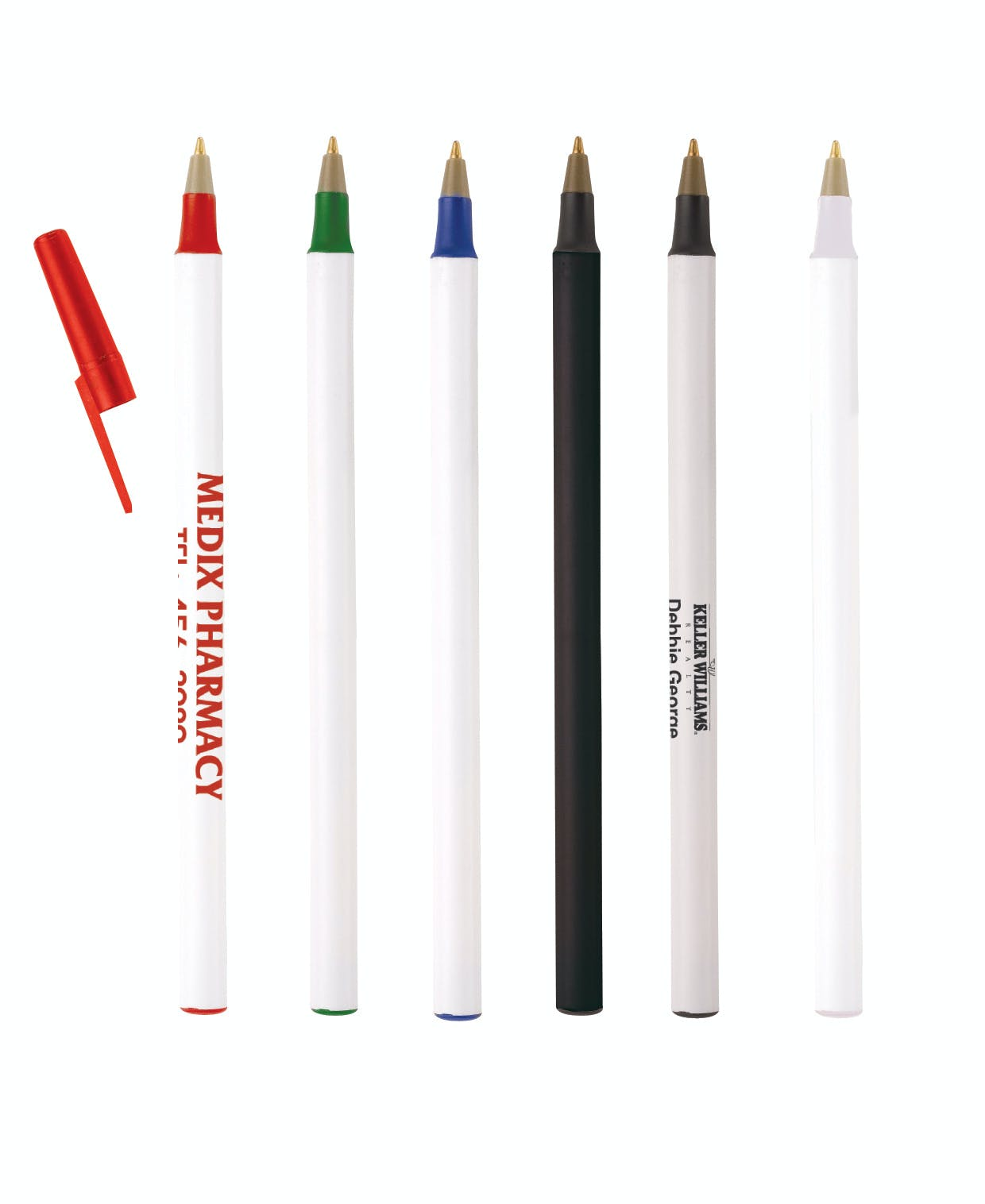 Plastic Pen (Item # KDFHR-ISFYQ) Pen sold by InkEasy