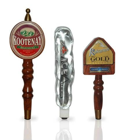 Custom Beer Keg Tap Handles from The Alison Group - sold by Alison Group