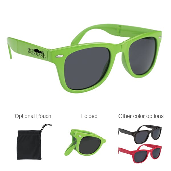 Folding Malibu Sunglasses Promotional product sold by MicrobrewMarketing.com