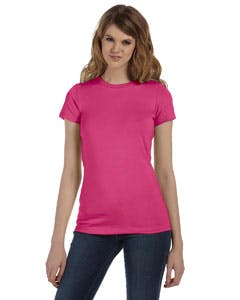 6004U Bella + Canvas Ladies' Made in the USA Favorite T-Shirt Promotional shirt sold by Lee Marketing Group