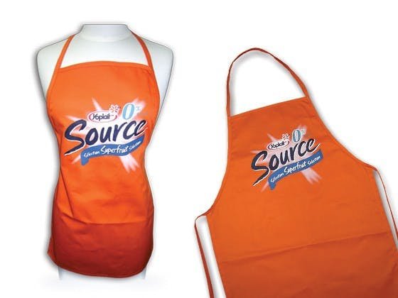 Aprons Promotional apparel sold by Luscan Group