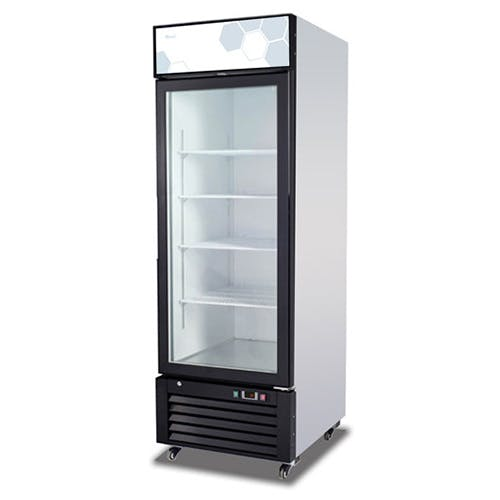 C-23RM Single Glass Door Migali Refrigerator Commercial refrigerator sold by Pizza Solutions