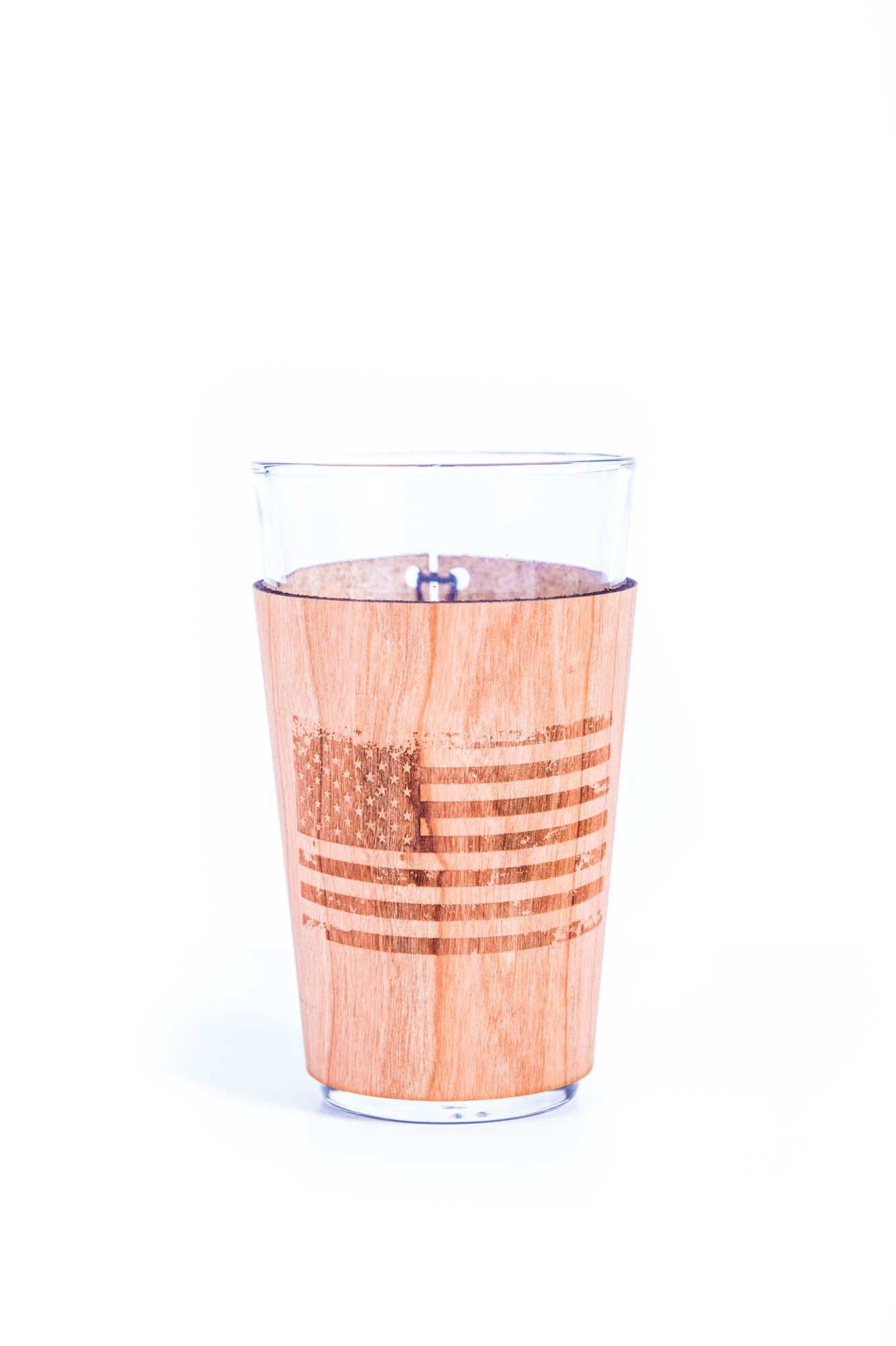 Real Wood Pint Koozie - sold by Just 1 Tree