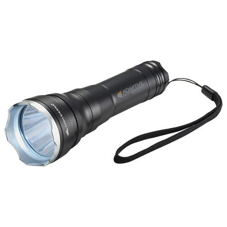 High Sierra® Flashlight - 8052-10 - Leeds Promotional flashlight sold by Distrimatics, USA