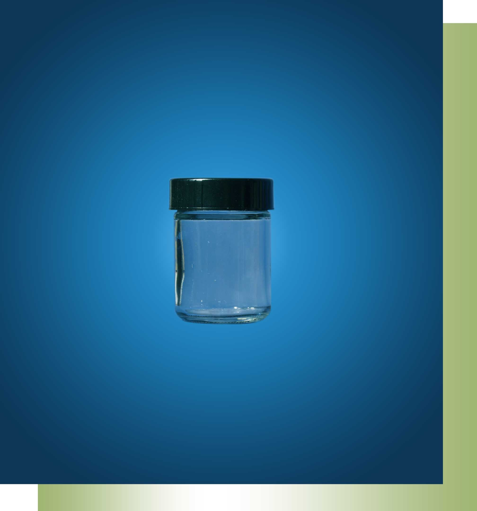 1 Ounce Clear Class Jar - Polycone Cap - Cosmetic Bottles & Jars - sold by Greenwood Products, Inc.