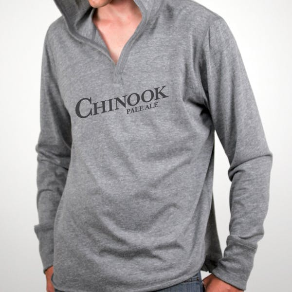 Alternative Unisex Long-Sleeve Pullover Hoodie Promotional shirt sold by MicrobrewMarketing.com