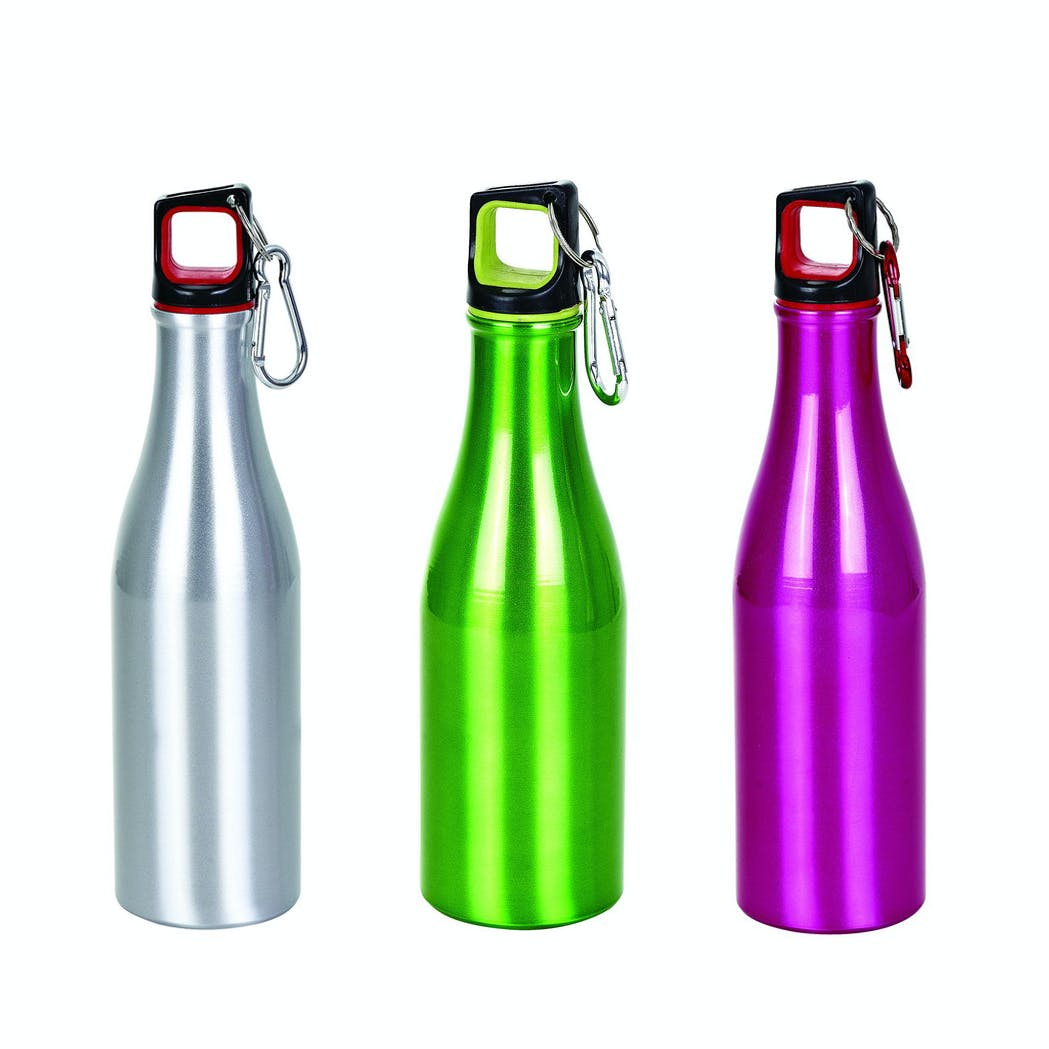 12 Oz. Aluminum Beer Bottle with Twist On Lid (Item # YDNQQ-JBYMJ) Beer bottle sold by InkEasy