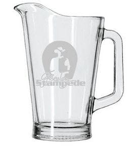 60 Oz. Glass Pitcher Beer pitcher sold by Ink Splash Promos™, LLC