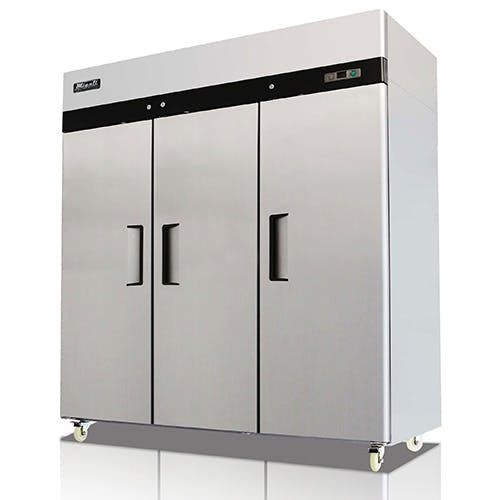 C-3F Triple Door Migali Freezer Commercial freezer sold by Pizza Solutions