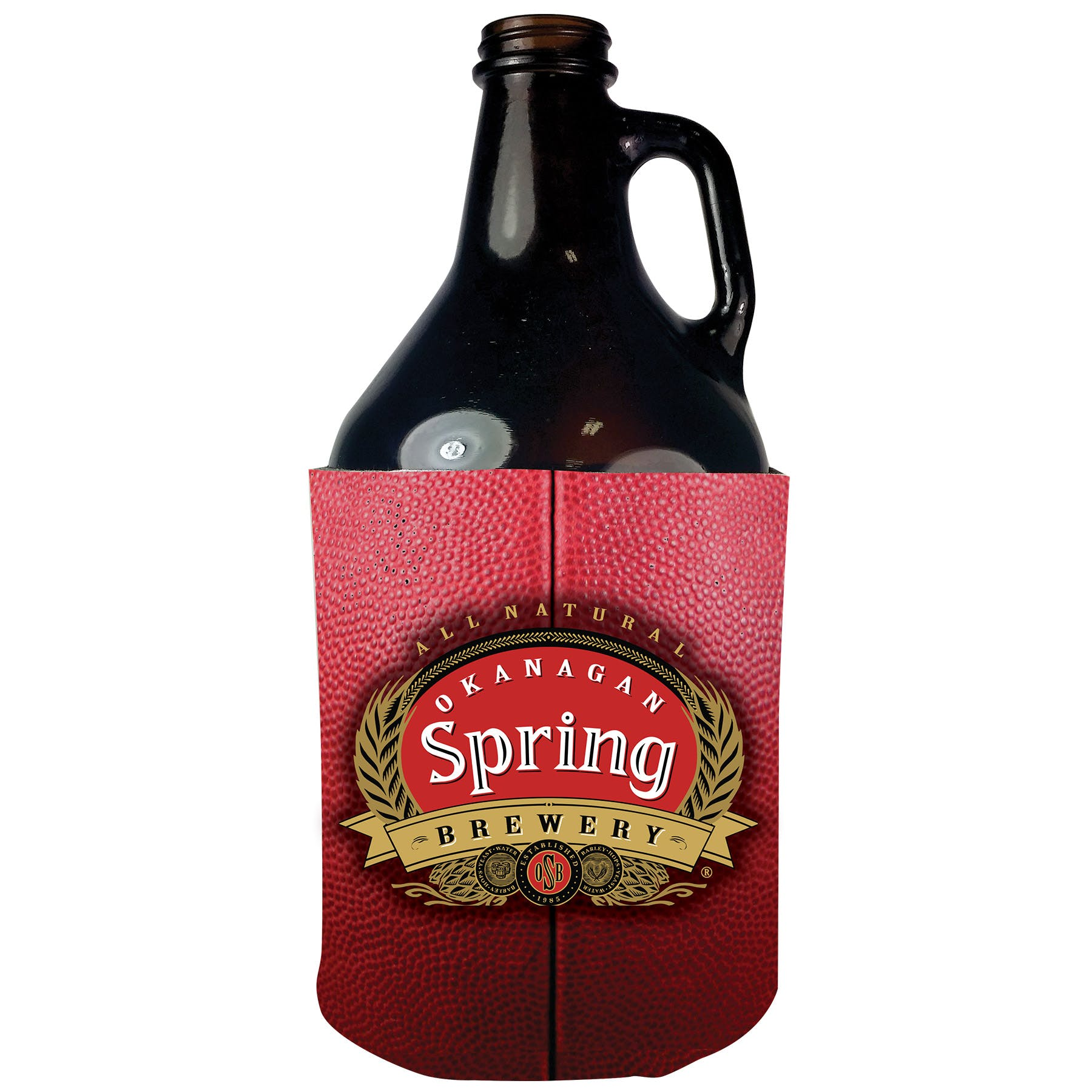 Growler Koozie (Item # HDGOM-JYRER) Koozie sold by InkEasy