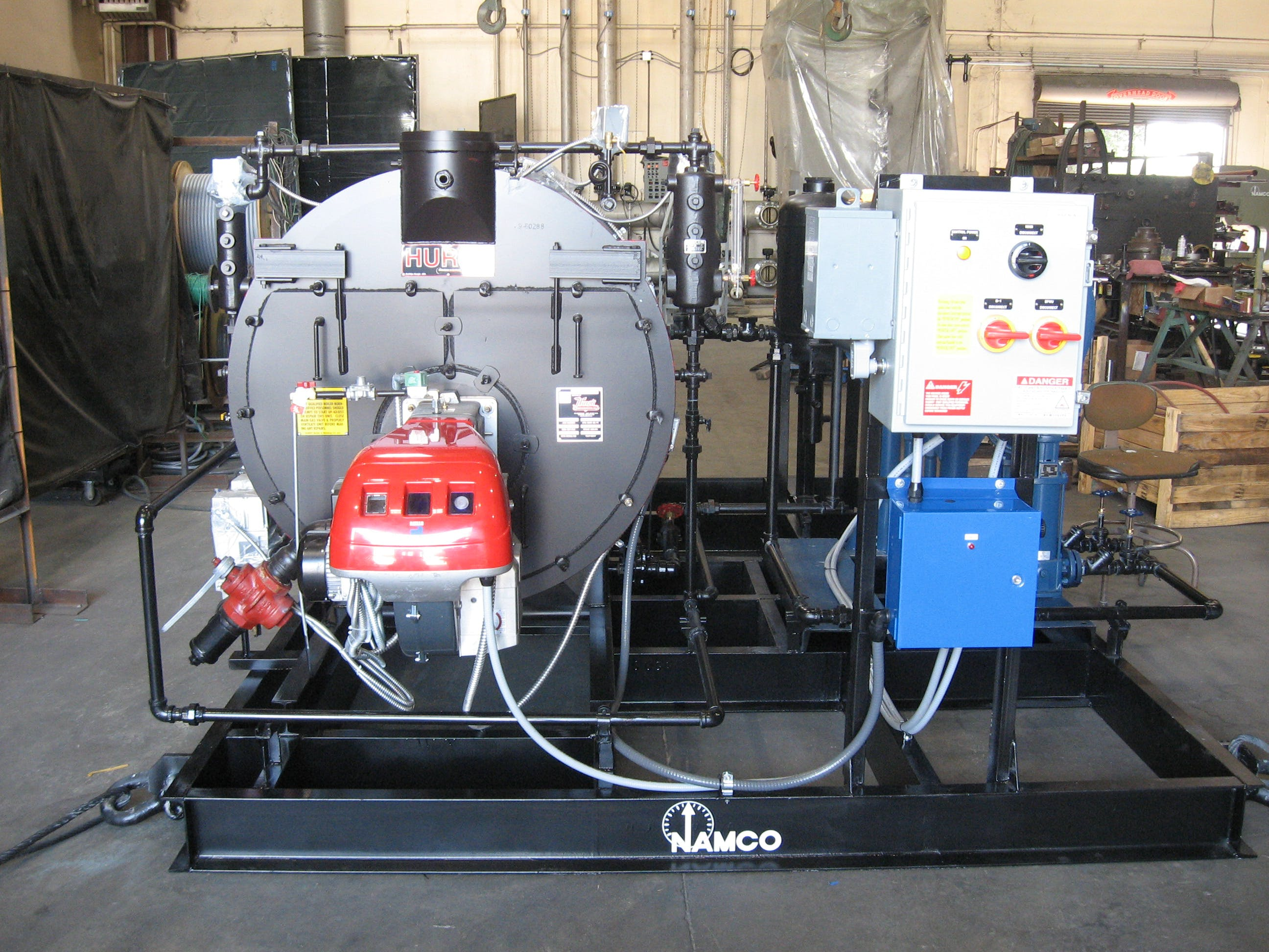 STEAM BOILER SKID PACKAGE - sold by Neal and Associates